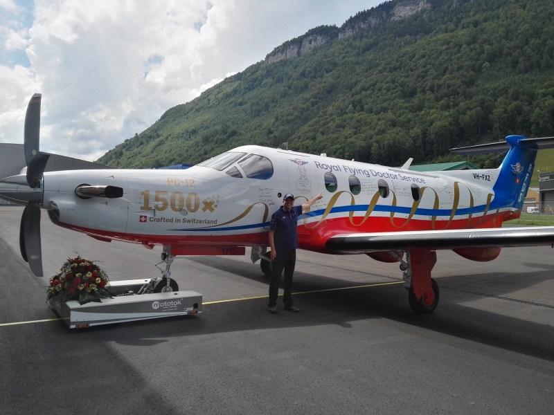 Rollout des 1500 Pilatus PC-12
