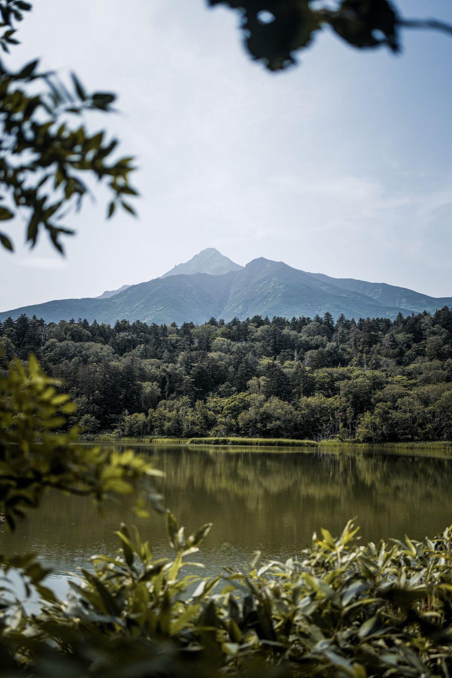 Beautiful Mount Rishiri on Rishiri Island!