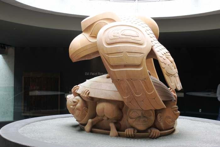 BC Anthro museum Bill Reid carving