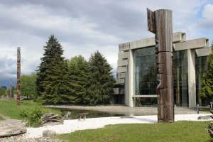 Vancouver Museum of Anthropology. University British Columbia