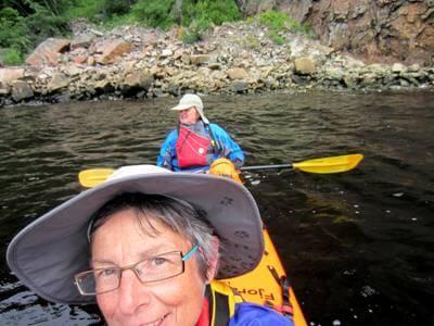 Blog 270715 kayak Chris and Mel