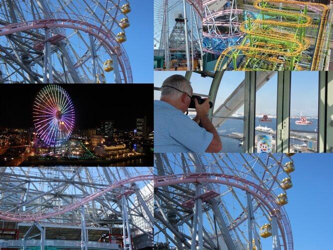 Yokohama Giant Ferris Wheel Collage
