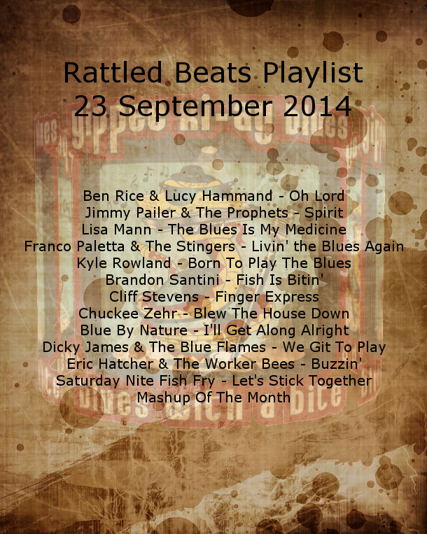Rattled Beats Playlist 23 Sep 2014