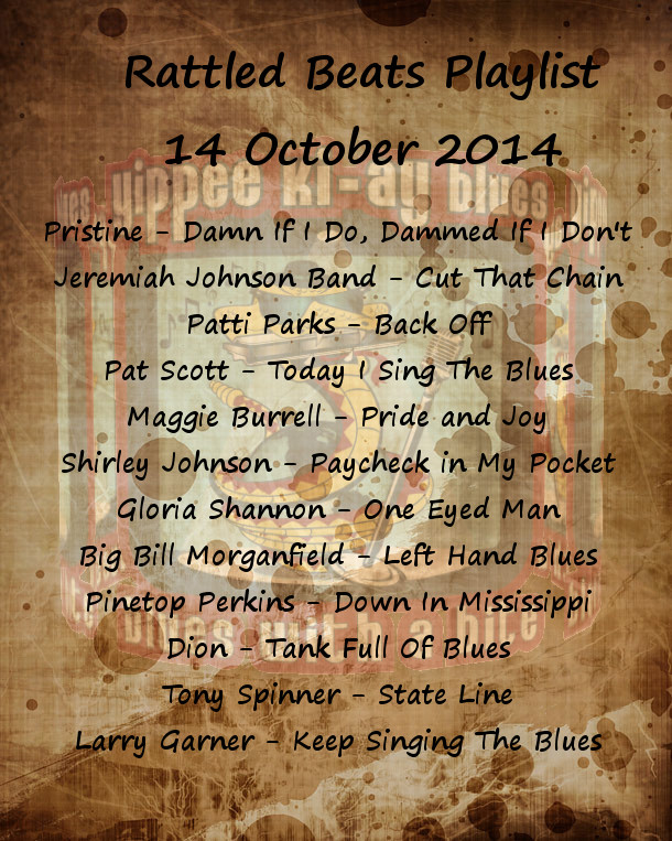 Rattled Beats Playlist 14 October 2014