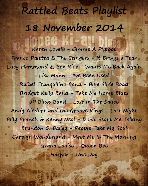 Rattled Beats Playlist November 18, 2014