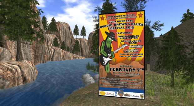 "1st Annual Yuma River Daze ""Boogie, Brews & Blues Festival 2015"""