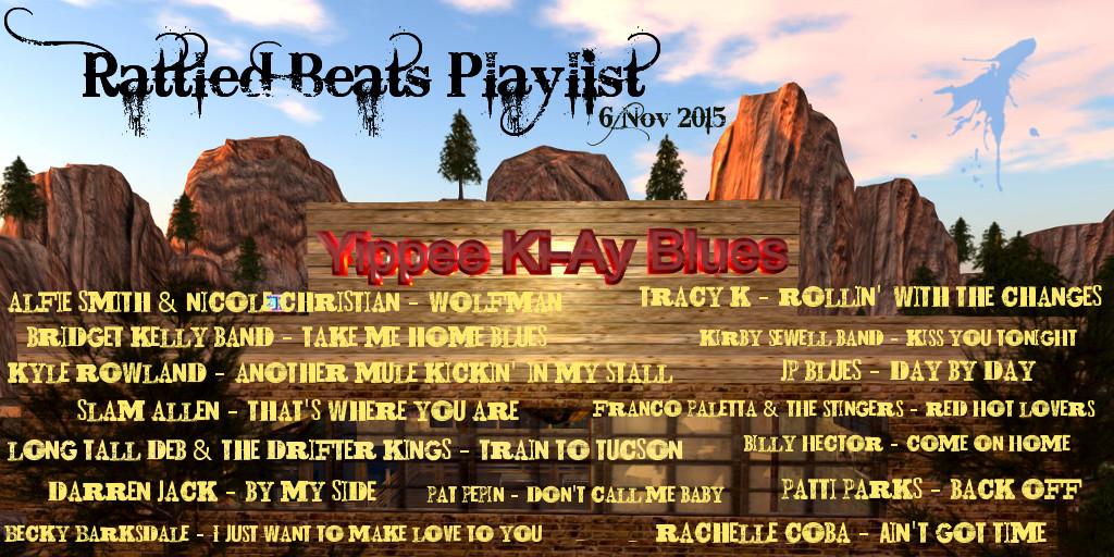 Rattled Beats Show 6 Nov 2015