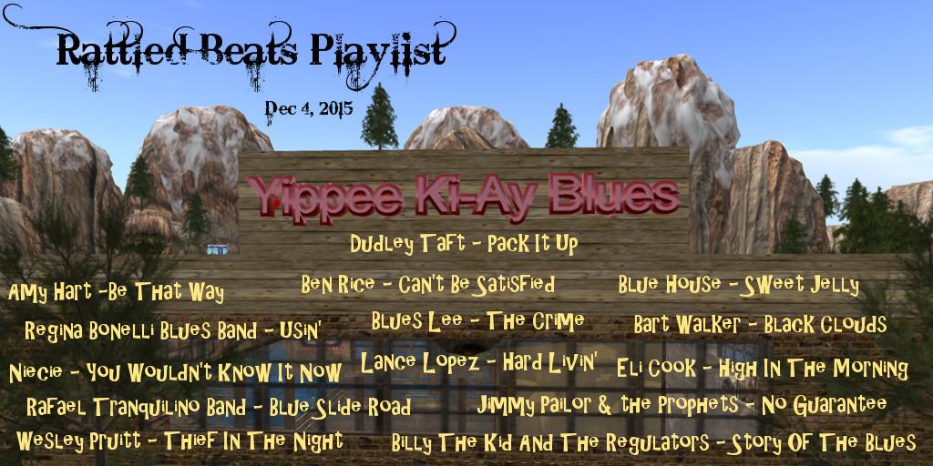 Rattled Beats 4 Dec