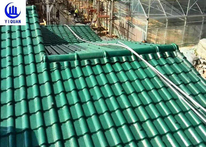 synthetic resin roof tile plastic roof tiles