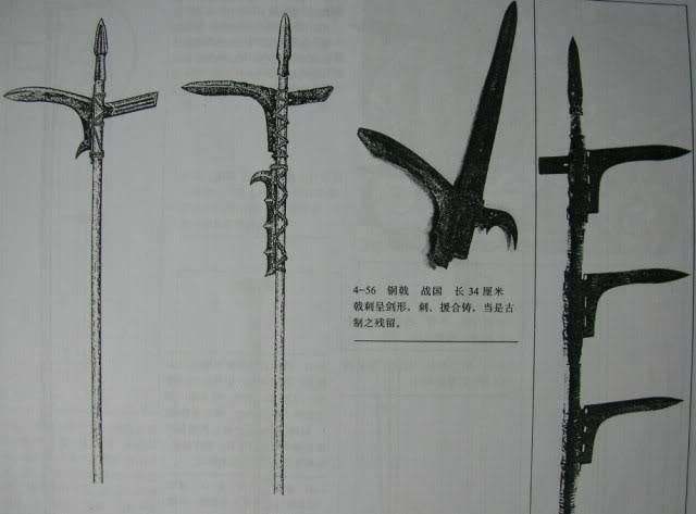 Dagger-axe reconstructions.