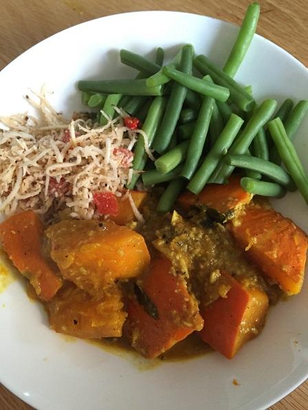 Pompoencurry Sri Lanka recept
