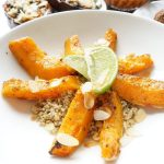 Pittige pompoen met quinoa