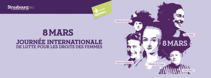 """Strazburg'da 8 Mart Etkinlikleri: """"Olympe de Gouges'dan Pınar Selek'e, 220 Yıllık Kadın Mücadele ve Direnişi"""""""