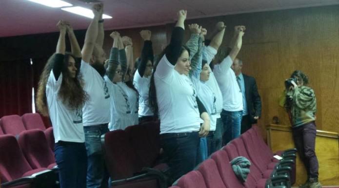 Vicdani Ret İnisiyatifinden Mecliste şok eylem