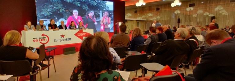 YKP'nin de katıldığı, Avrupa Sol Partisi 6. Kongresi gerçekleşti