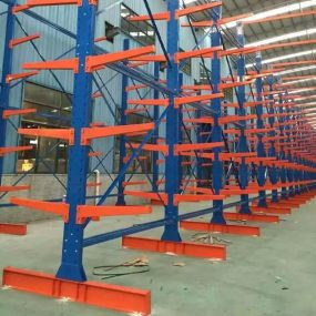 Custom Warehouse Heavy Duty Steel Cantilever Rack-01