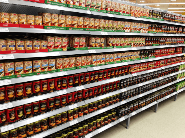 Supermarket Shelves Manufacturers