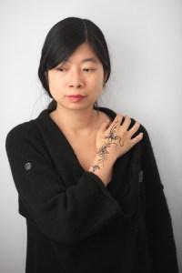 tatouage pailleté par Yael