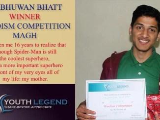 Love letter Wordism Writing Competition Winner Tribhuwan Bhatt