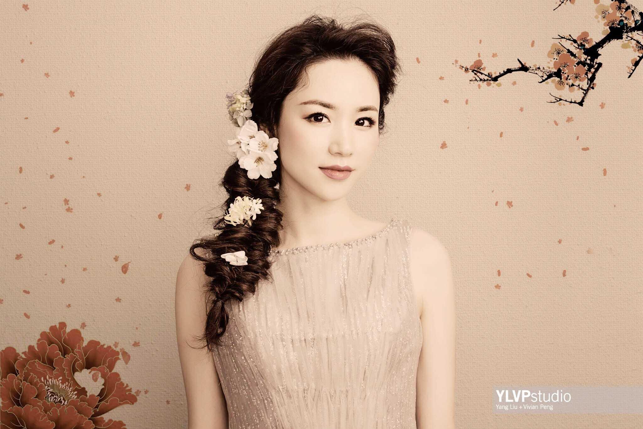 Gongbi style portrait ~ YLVP studio, Houston Portrait Photographer
