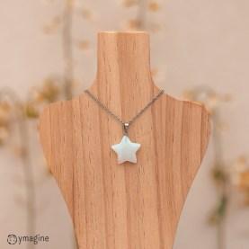 Pingente Estrela Opala