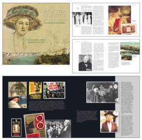 Maquetación de «Agatha Christie en Canarias» de Nicolás González Lemus