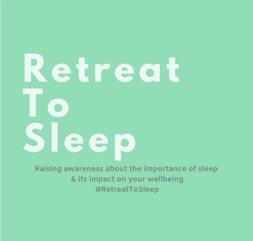 Retreat to sleep