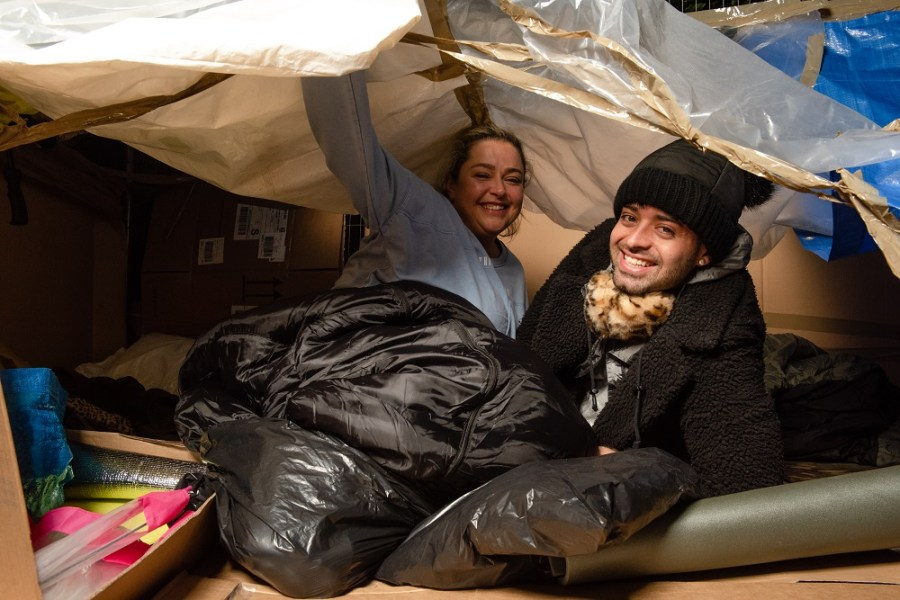 homeless support help exeter