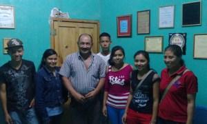 visita alcalde masaguara
