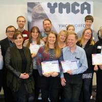 YMCA Norfolk staff honoured for their work
