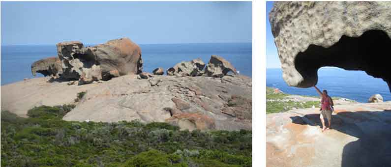 Your Missing Link supports Remarkable Rocks on Kangaroo Island