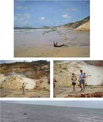 Beautiful Cooloola National Park with 72 shades of coloured sand - YML v/Henny Jensen