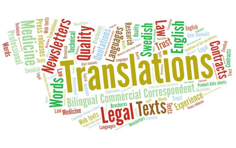 Get inspiration as to what you can ask Your Missing Link to translate. Send your enquiry to info@yml.dk
