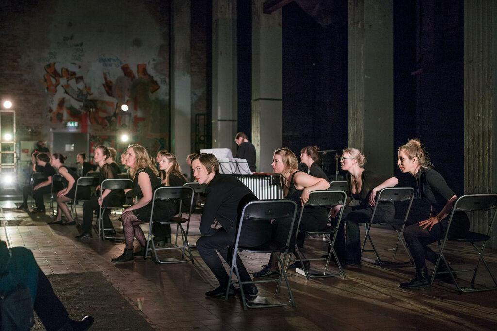 Äggen är slut Röda Sten Konsthall 2017, foto: Hendrik Zeitler