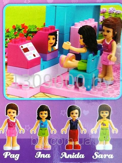 """Конструктор для девочек """"Модный дом"""" JDLT 189 деталей 5228 ..."""