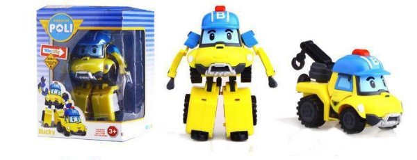 Игрушка трансформер из мультика Робокар Поли Баки 83168BM ...