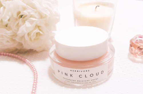 HERBIVORE Pink Cloud Rosewater Moisturizer Review