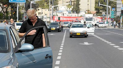 In Israel, a two minute siren goes off on Holocaust Remembrance  Day. All across the country , everyone stops their cars, even on the  highways, and stands together in respectful silence.