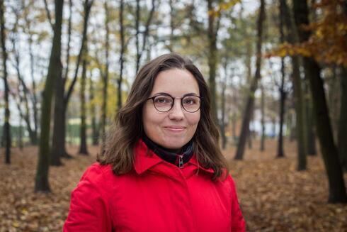 La periodista polaca Katarzyna Markusz.