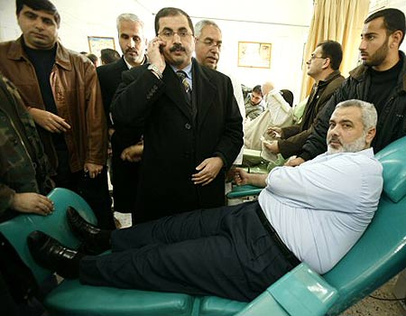 Hamas leaders playing sick
