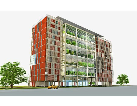 Agro-Housing building