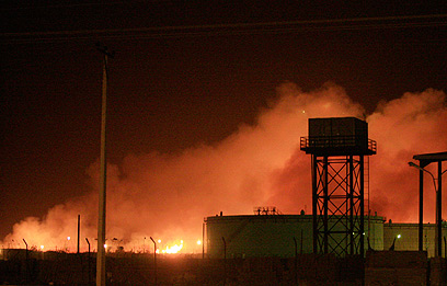 Sudanese arms factory explosion