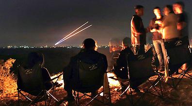 Iron Dome intercepts Gaza rockets