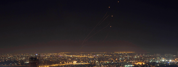 Iron Dome knocks out rockets over Tel Aviv