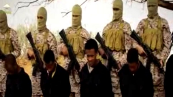 New ISIS video purportedly shows mass executions of Christians