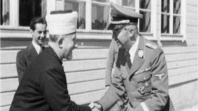 Letter written to Grand Mufti from Himmler uncovered