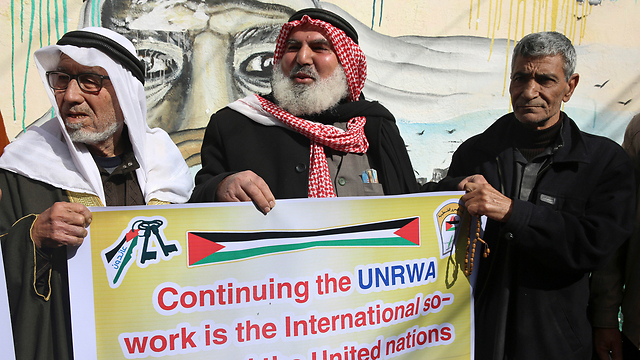 Image result for World leaders discuss future of UNRWA at UN after Washington pulled its funding