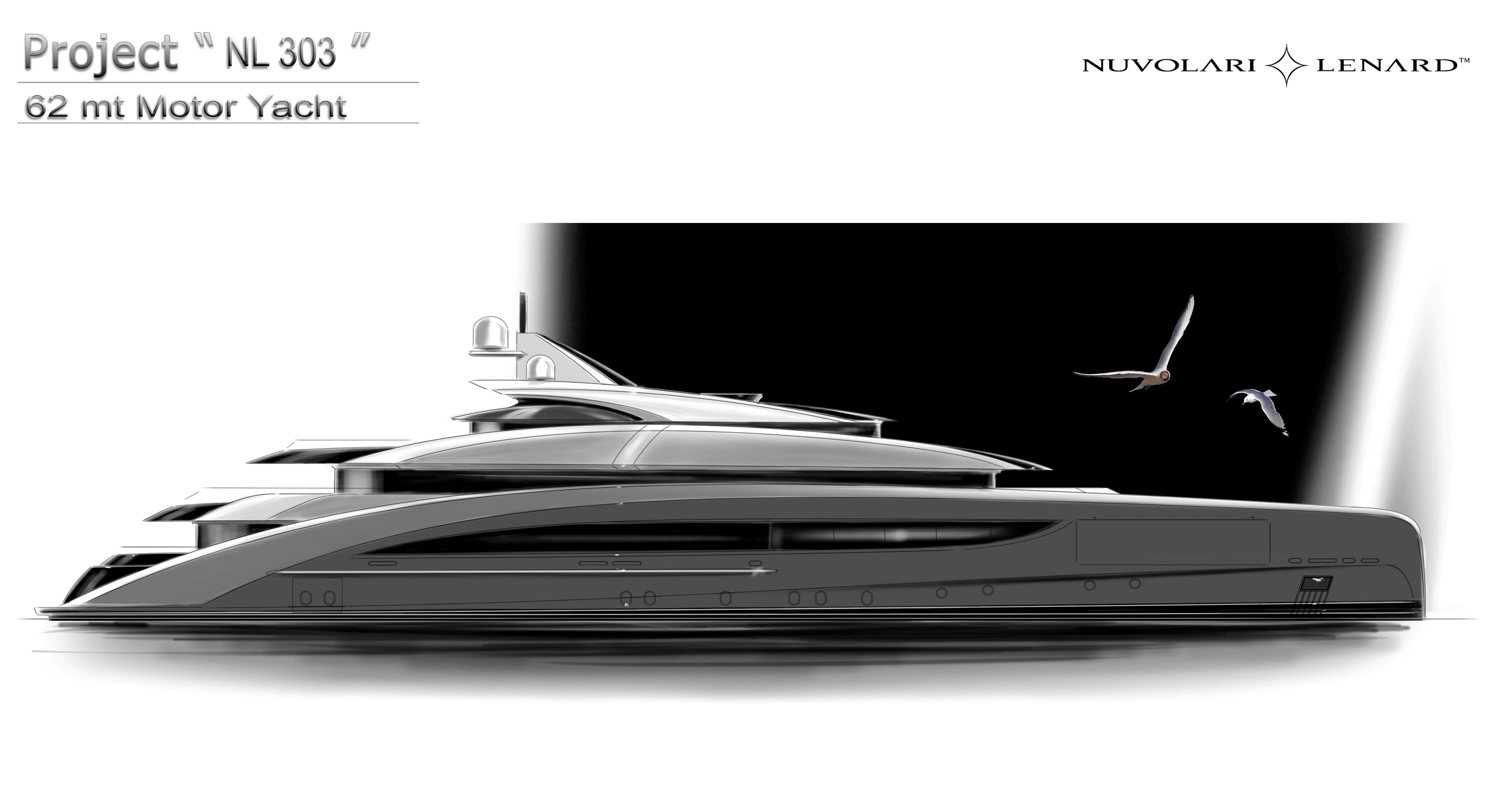 CRN Announces 62 M Designed By Nuvolari Lenard Yellow