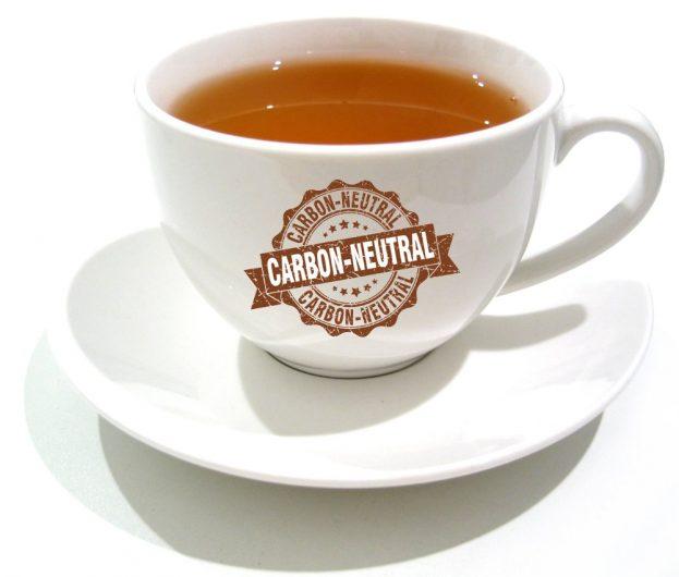 Carbon neutral cup of tea