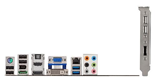 conexões de uma placa de computador